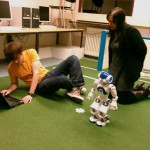 Teaching Nao to walk